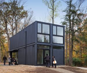 Modern Insta-House Shipping Container by MB Architects