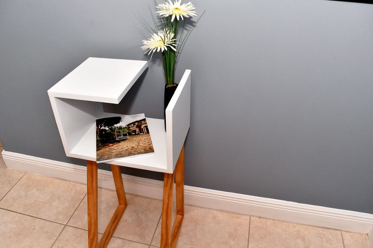 Modern Two Toned Nightstand