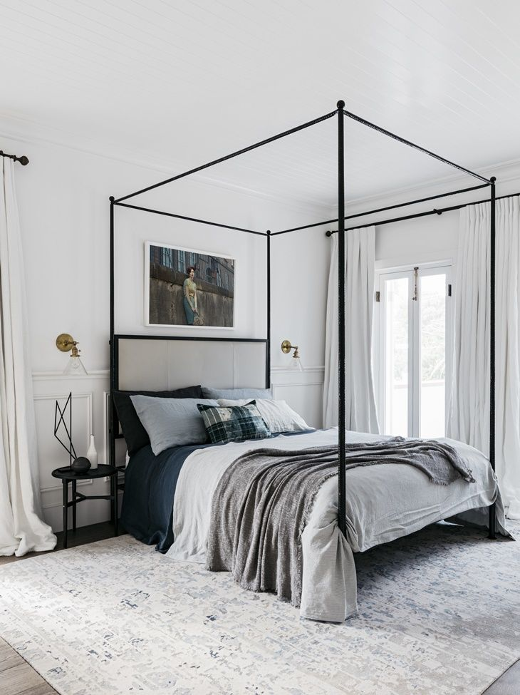 Canopy Bed.Bohemian Canopy Beds Bestow Beauty Upon These Gorgeous Interiors