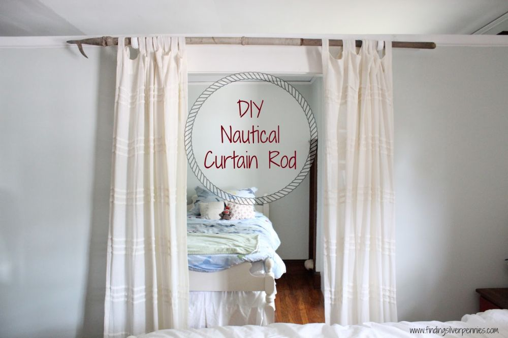 Diy Curtain Rods Easy Fun Cheap And Inspiring Ideas You Ll Love