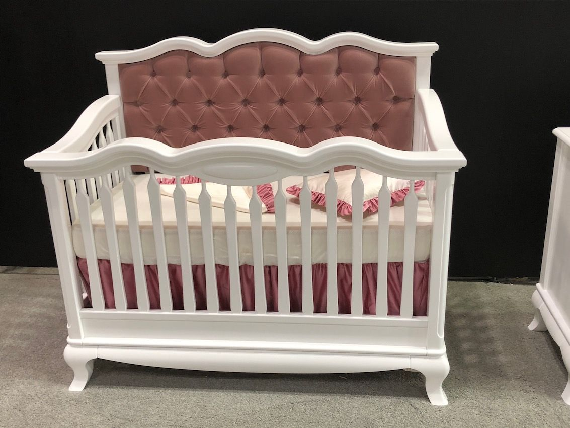 New models of cribs convert to grow with a child.