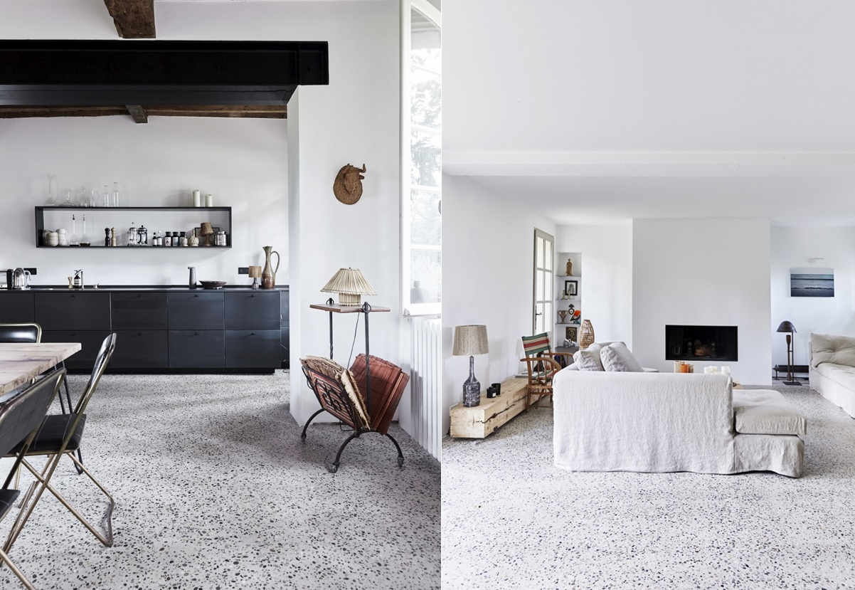 Terrazzo flooring offers decades of style and durability for Design terrazzo