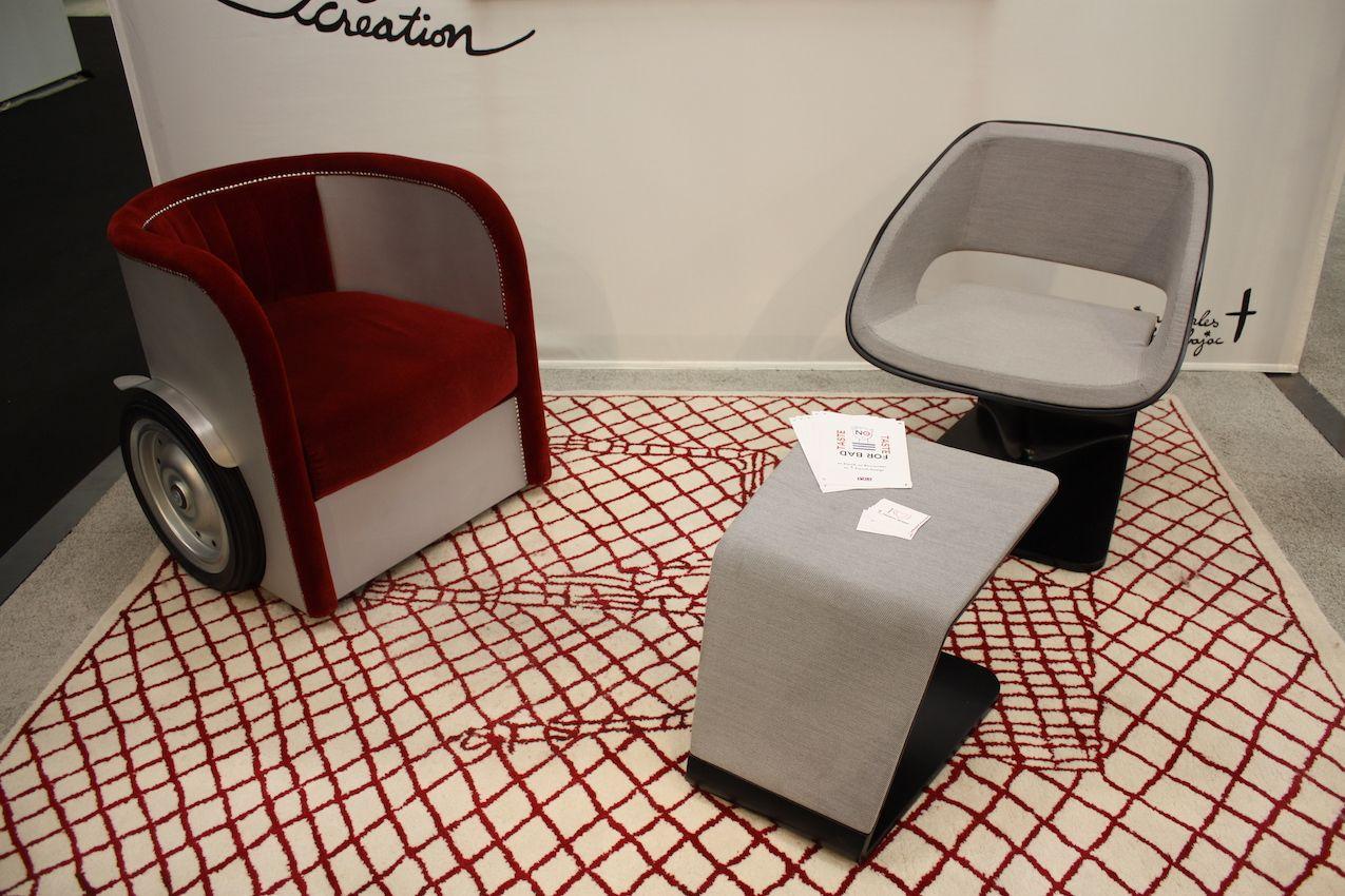 A playful chair adds a bit of fun to an interior.