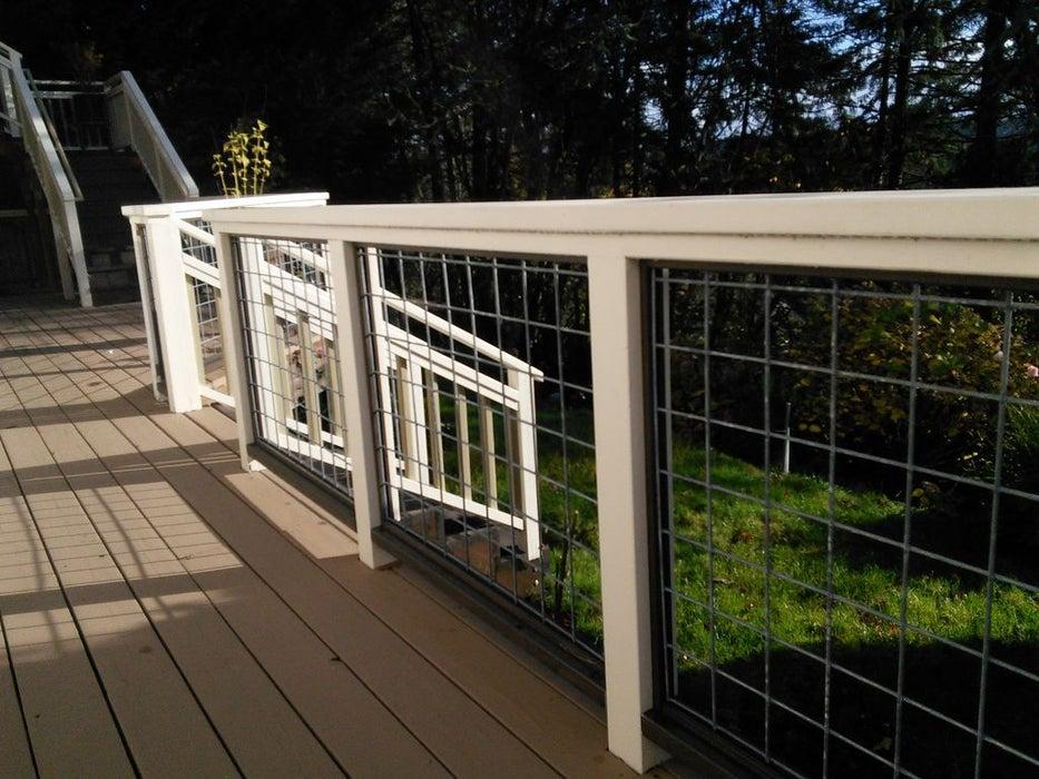 diy fence Utility Panel Fence