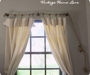 DIY Curtain Rods – Easy, Fun, Cheap And Inspiring Ideas You'll Love