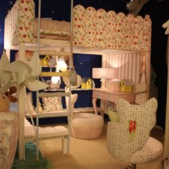 A bunk bed is one of the most popuar for children.