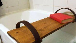 How To Make a Bathtub Caddy Tray