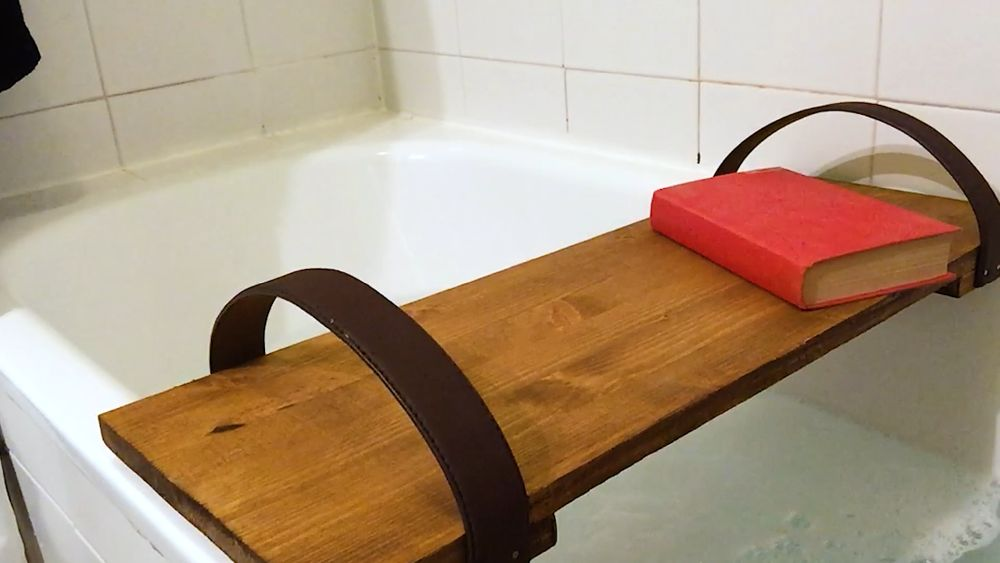 How To Make A Bathtub Caddy Tray