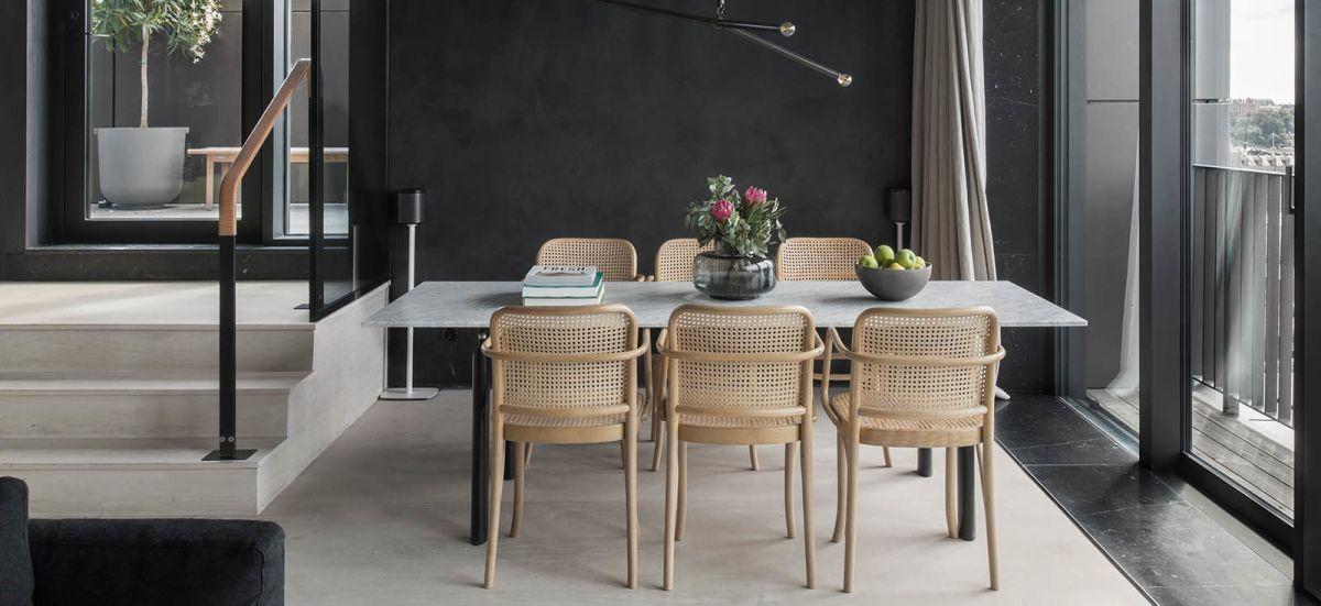 Furnishings are minimalist yet very comfortable.