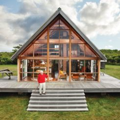 Block Island Family Retreat Cabin A frame