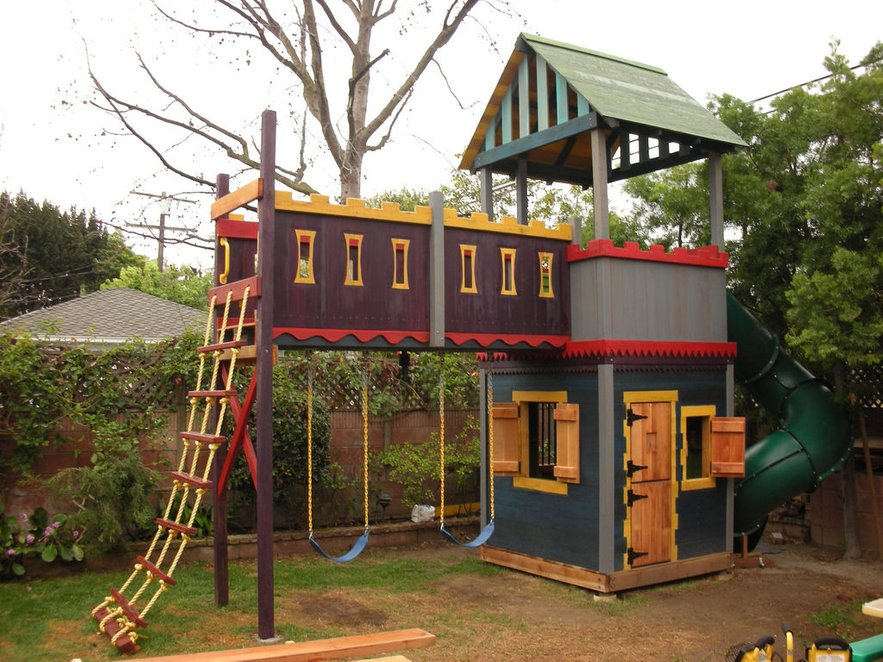 Easy Playhouse Plans For Fun And Creative Parents on fort floor plans, easy fort plans, backyard fort plans, outdoor fort plans, elevated fort plans, play fort plans, tree fort plans, wood fort plans, fort ideas, 2 story fort plans, fort designs, fort bed plans, playground fort plans, fort swing set plans,