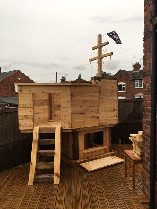 Easy Playhouse Plans For Fun And Creative Parents on diy raised garden, diy raised patio, diy raised pool, diy raised deck,