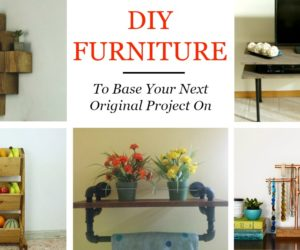 50 DIY Furniture Ideas To Base Your Next Original Project On