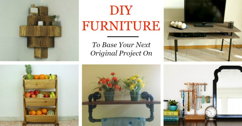 50 DIY Furniture Concept To Base Your Next Original Project On