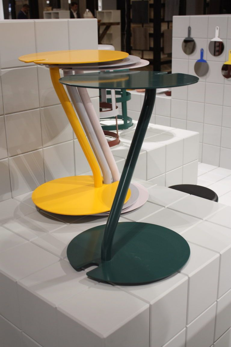 Durable, stackable occasional table can serve many purposes.