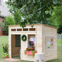 Kids playhouse plans DIY