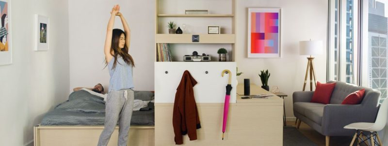 Ori – The Smart Furniture System Which Adapts To Your Tiny Home