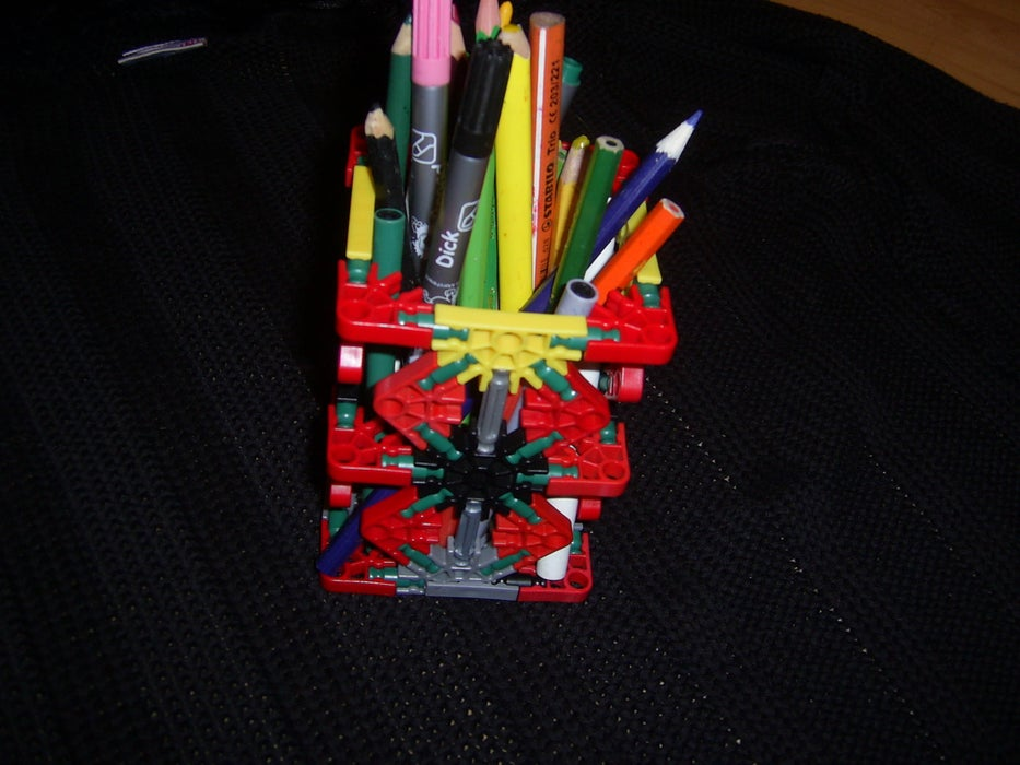 Old Toy Pencil Holder