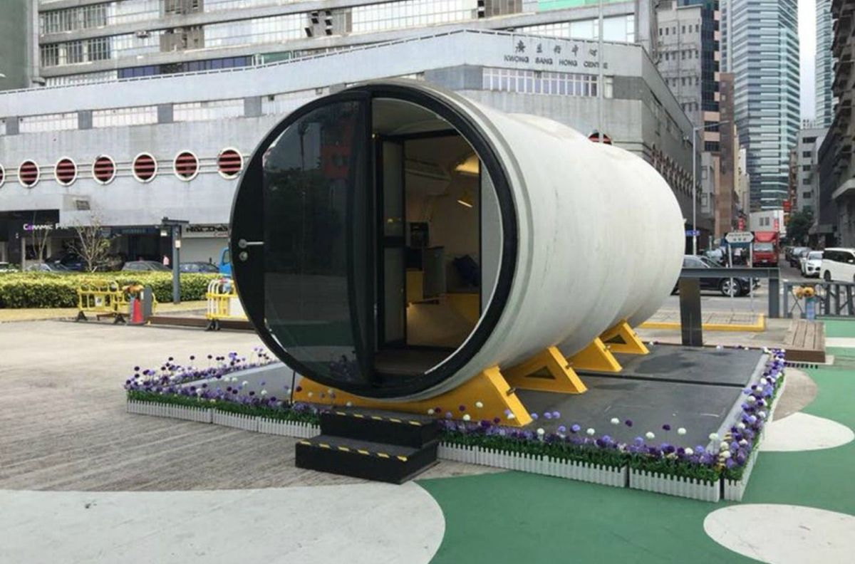 The OPods are not just for the gaps between buildings. You can install them just about anywhere