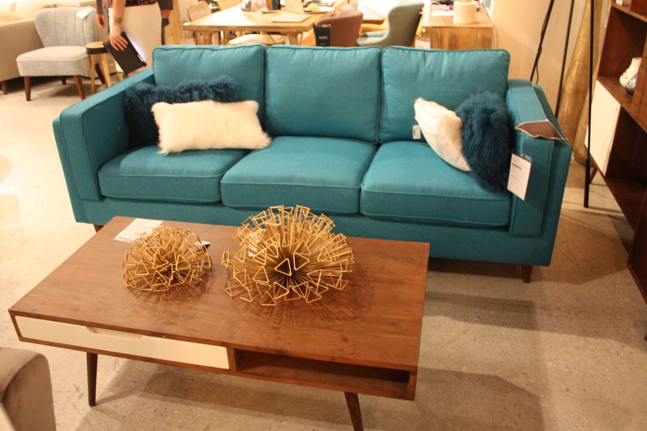The Lawson is a modern cousin of the classic round-arm sofa.