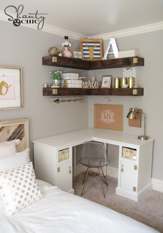 DIY Corner Shelf Ideas For Your Next Weekend Project