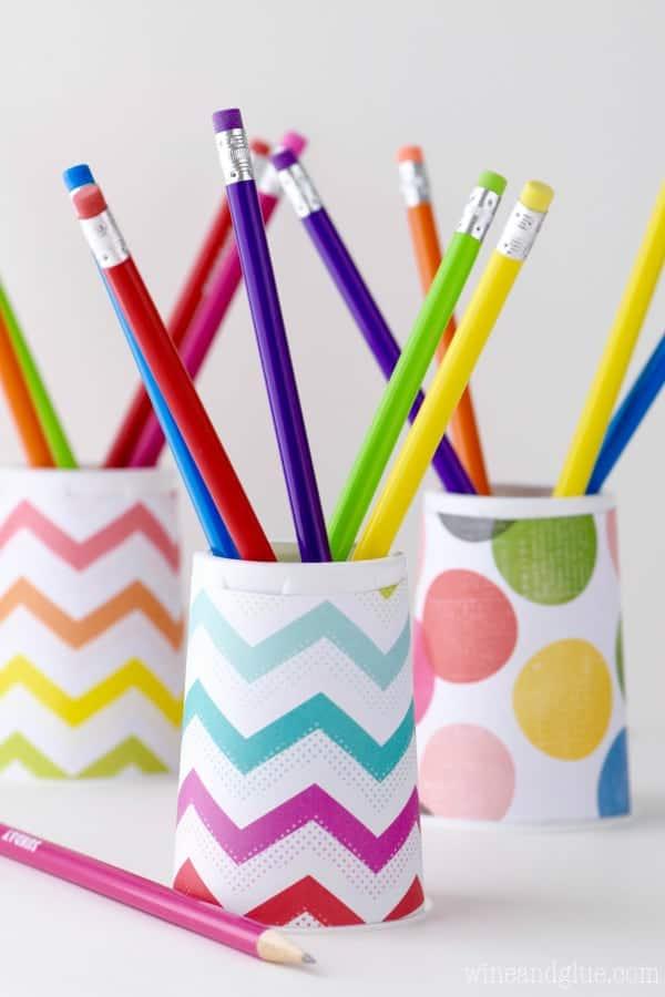 Yoplait Cup Pencil Holder