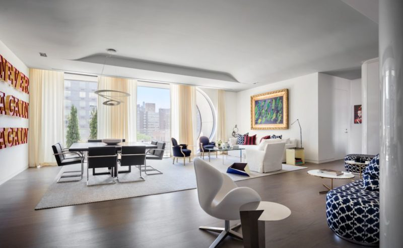 Zaha Hadid New York Residence Is An Artful Urban Family Home