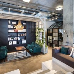 interior design studio in Dnepropetrovsk social area