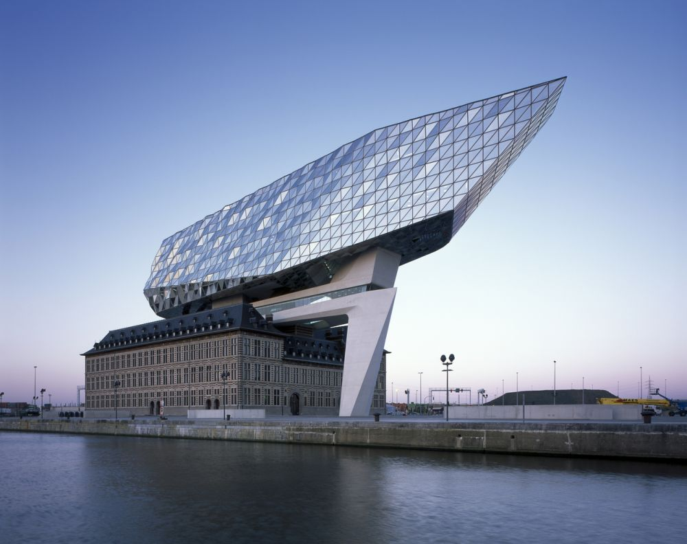 Port House in the port of Antwerp, Belgium
