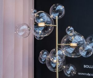 Bolle glass blown lighting giopato and coombes