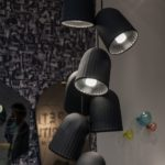Chains Hanging pendant lamps in black