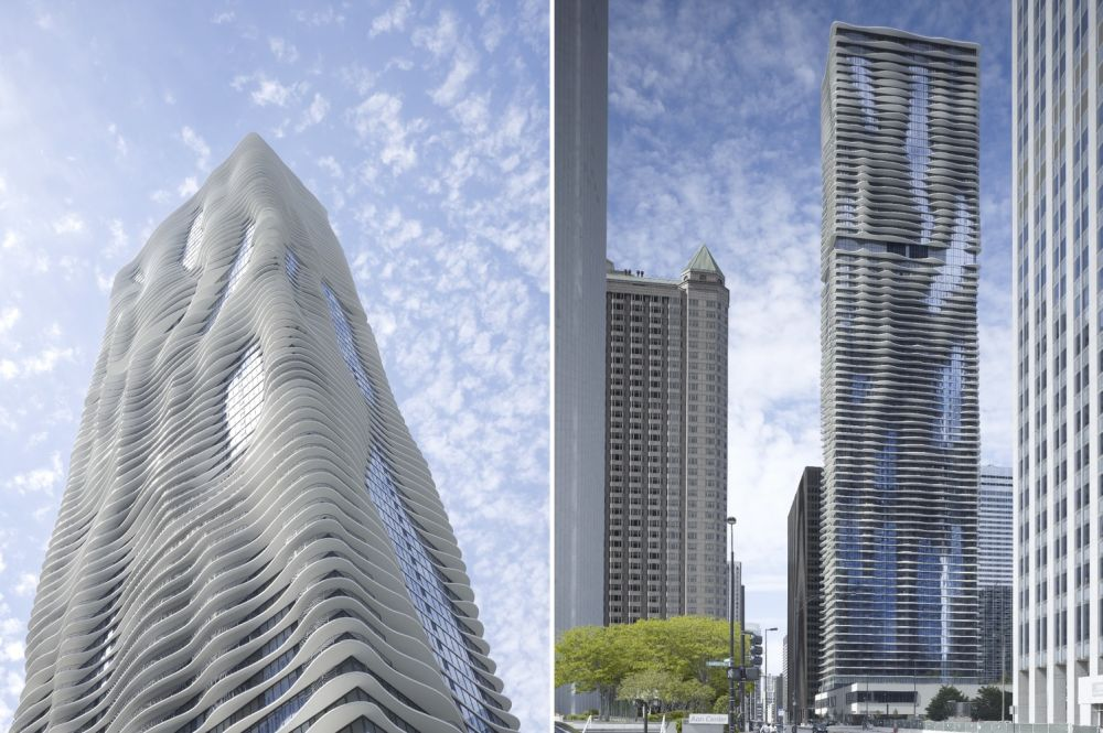 Chicago'sAqua Tower