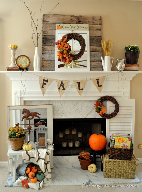 Fall Mantel Decor Ideas That Impress