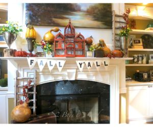 Fall Mantel Decor Concept That Impress And Inspire