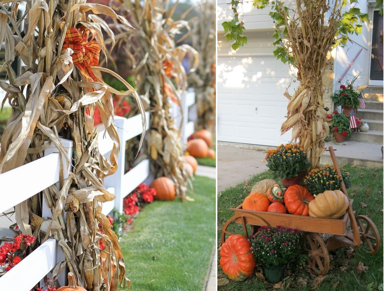 A Bountiful Collection Of Outdoor Fall Decor Ideas