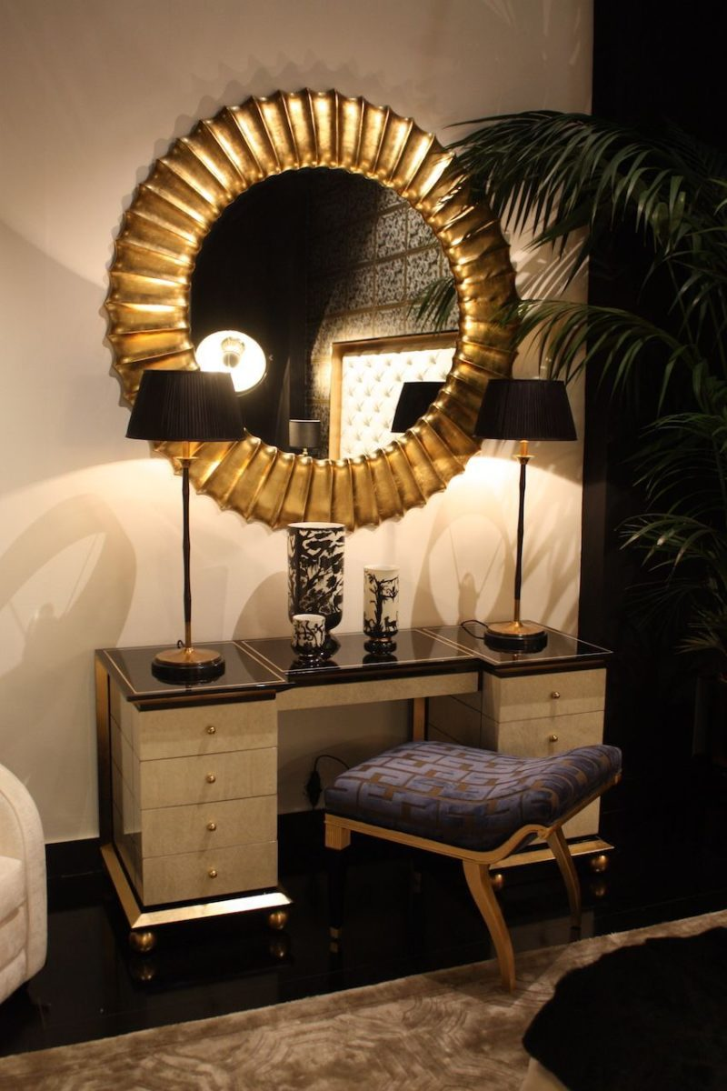 Get Ready in Style with a Luxe Make-up Vanity for Your Bedroom