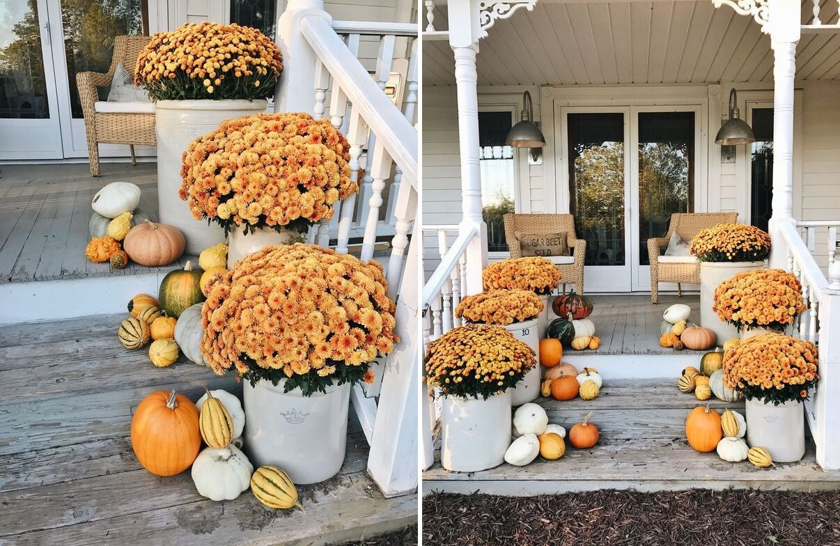 Fall Porch Decor Ideas Anyone Can Pull