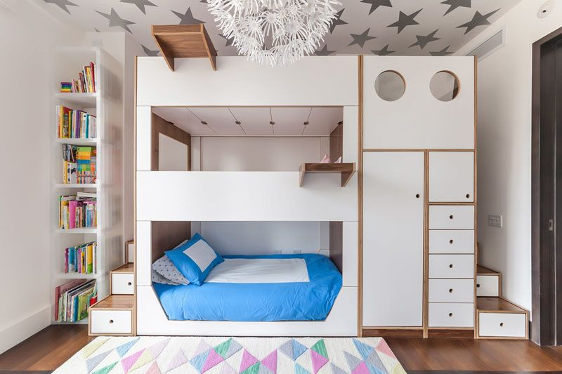 Astounding 25 Awesome Bedrooms With Bunk Beds And More Uwap Interior Chair Design Uwaporg