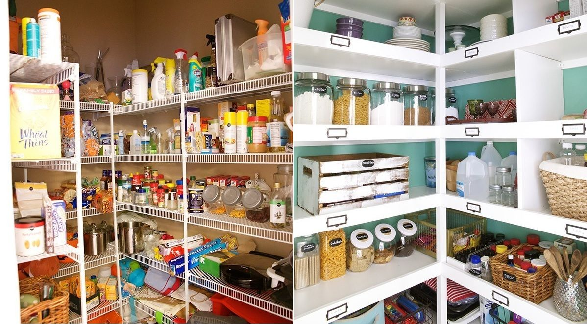 How To Organize Your Kitchen Pantry For Maximum Storage Efficiency