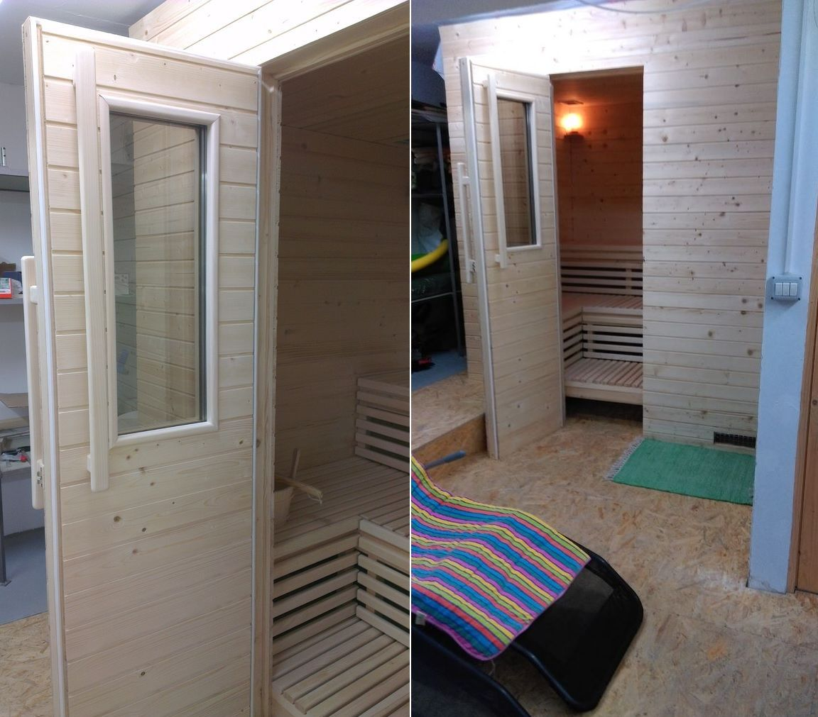 how to build a sauna or a hot tub by yourself from scratch. Black Bedroom Furniture Sets. Home Design Ideas