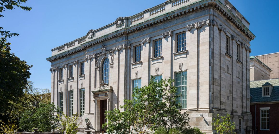 John Hay Library at Brown University in Providence, Rhode Island