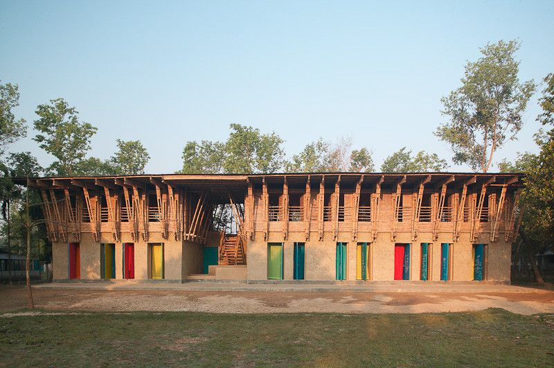 METI Handmade School in Rudrapur in Rudrapur in the Dinajpur district of Bangladesh