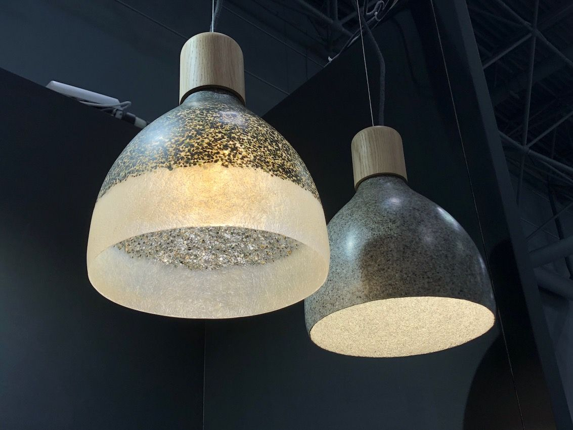 Many living rooms need some sort of lighting at the ceiling. These pendants are by Migaloo.