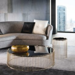 Minotti Gold Coffee Table