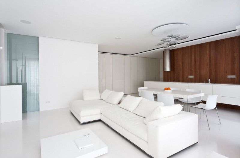 White Living Room Furniture - The Serene Choice That Never Goes Out ...