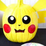 Pokemon painting pumpkin