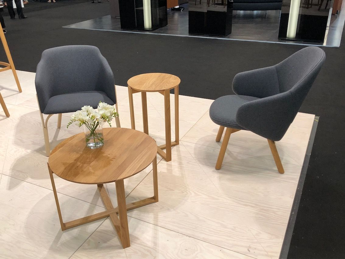 Simplicity and durability are key in Scandinavian designs like these from TON.