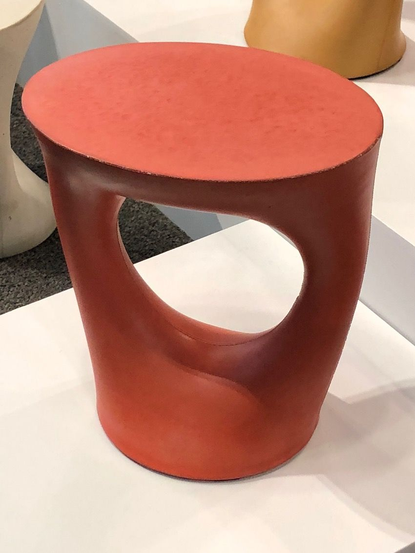 Souda's side table is colorful, funky and versatile.
