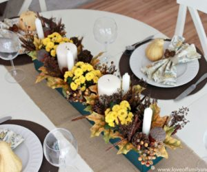 Charming Fall Table Decorations Give The Start To A New Season