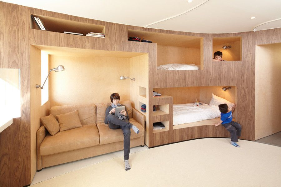 25 Awesome Bedrooms With Bunk Beds And More